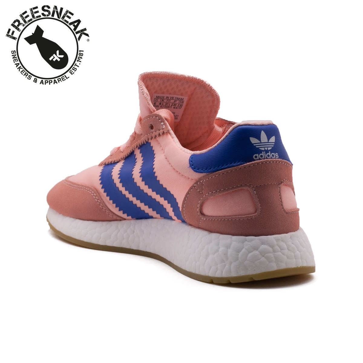 on sale 37bc7 d42c8 Adidas | Iniki Runner W Pink Blue | BA9999