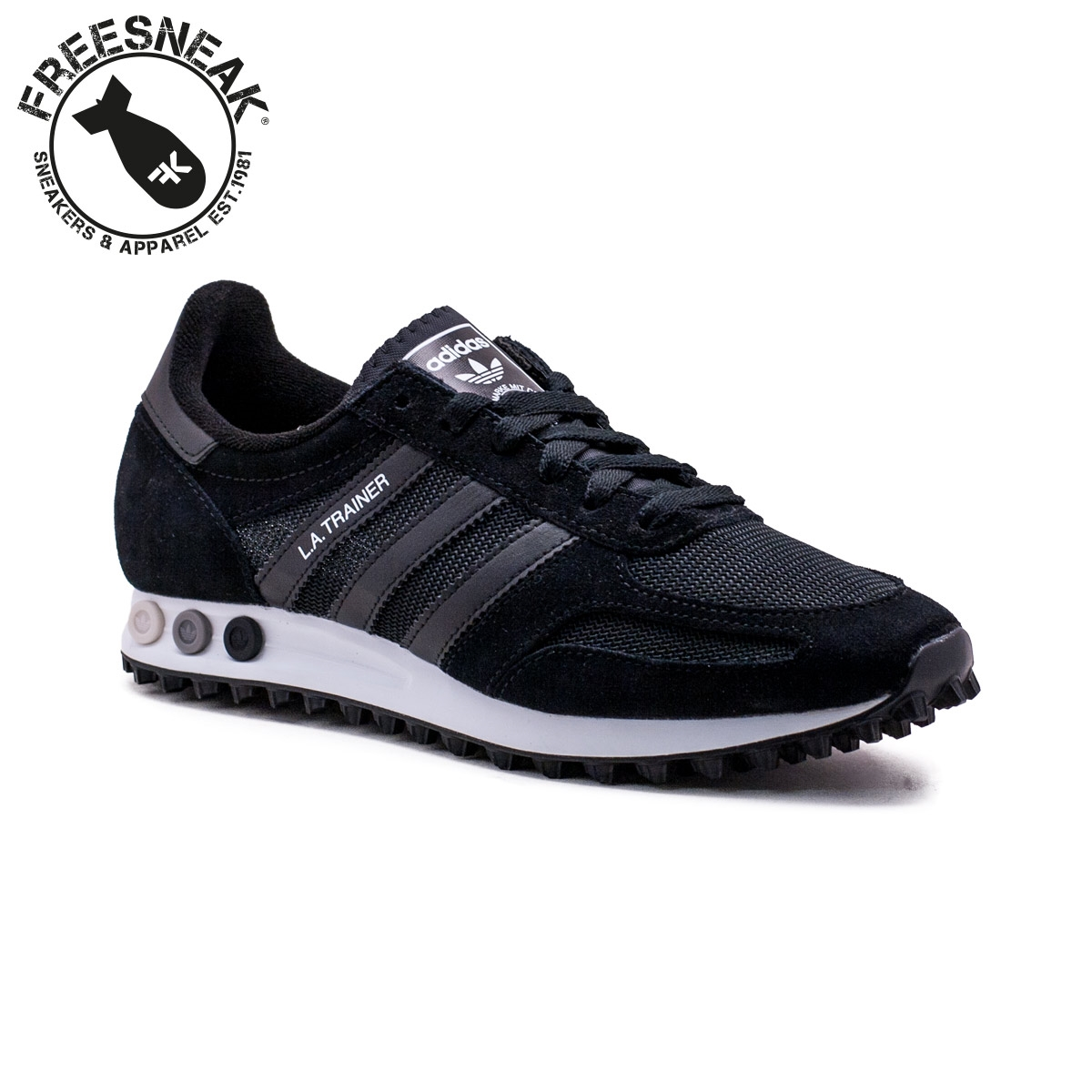 adidas Originals LA Trainer OG Trainers In Black BY9326