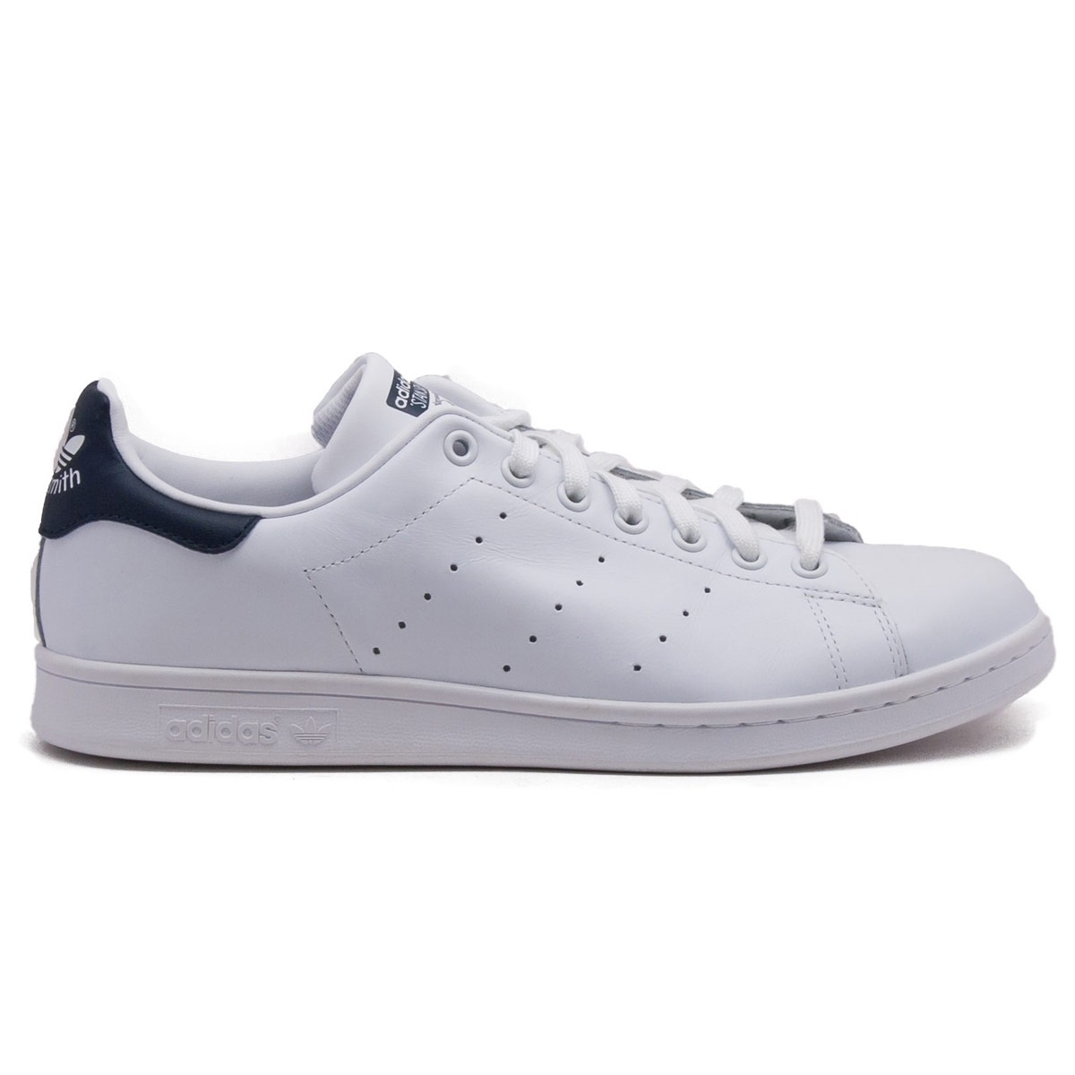 adidas originals clean bianca leather stan smith trainers