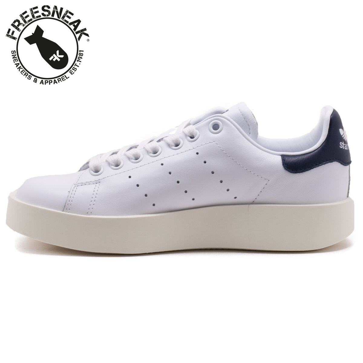 adidas stan smith with blue
