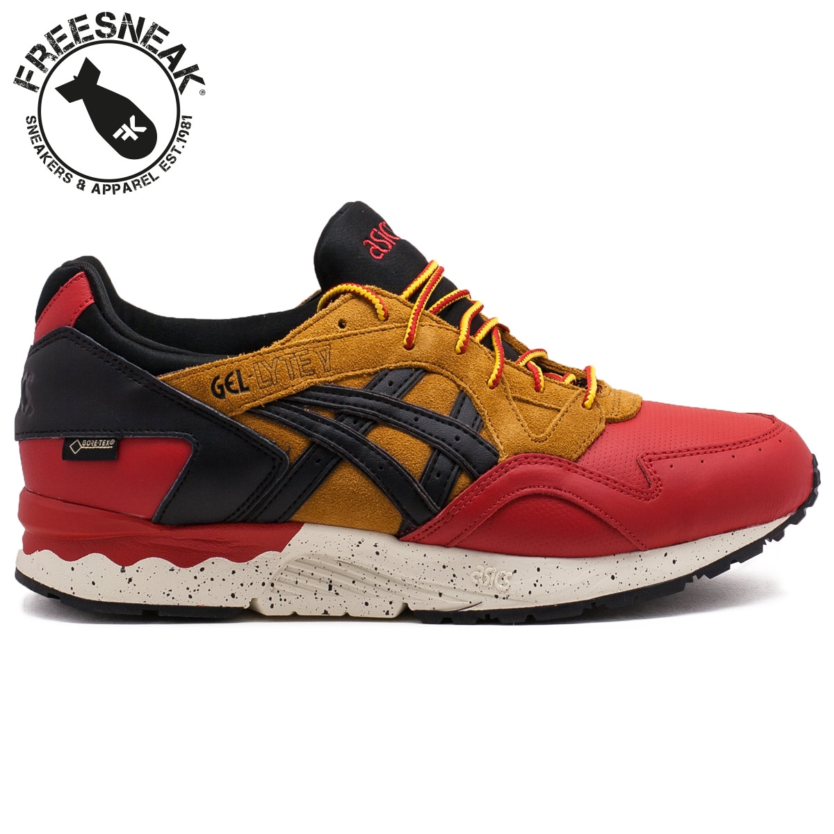 huge selection of ece0e ee6fb GEL LYTE V G-TX RED/BLACK HL6E2-2590