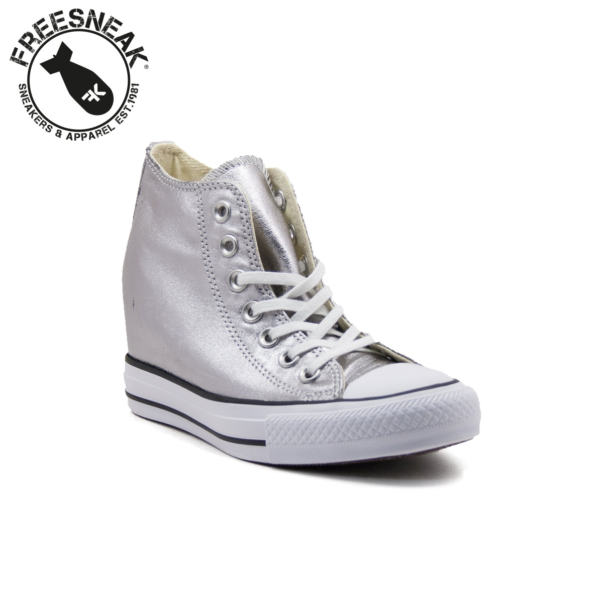 2converse all star argento