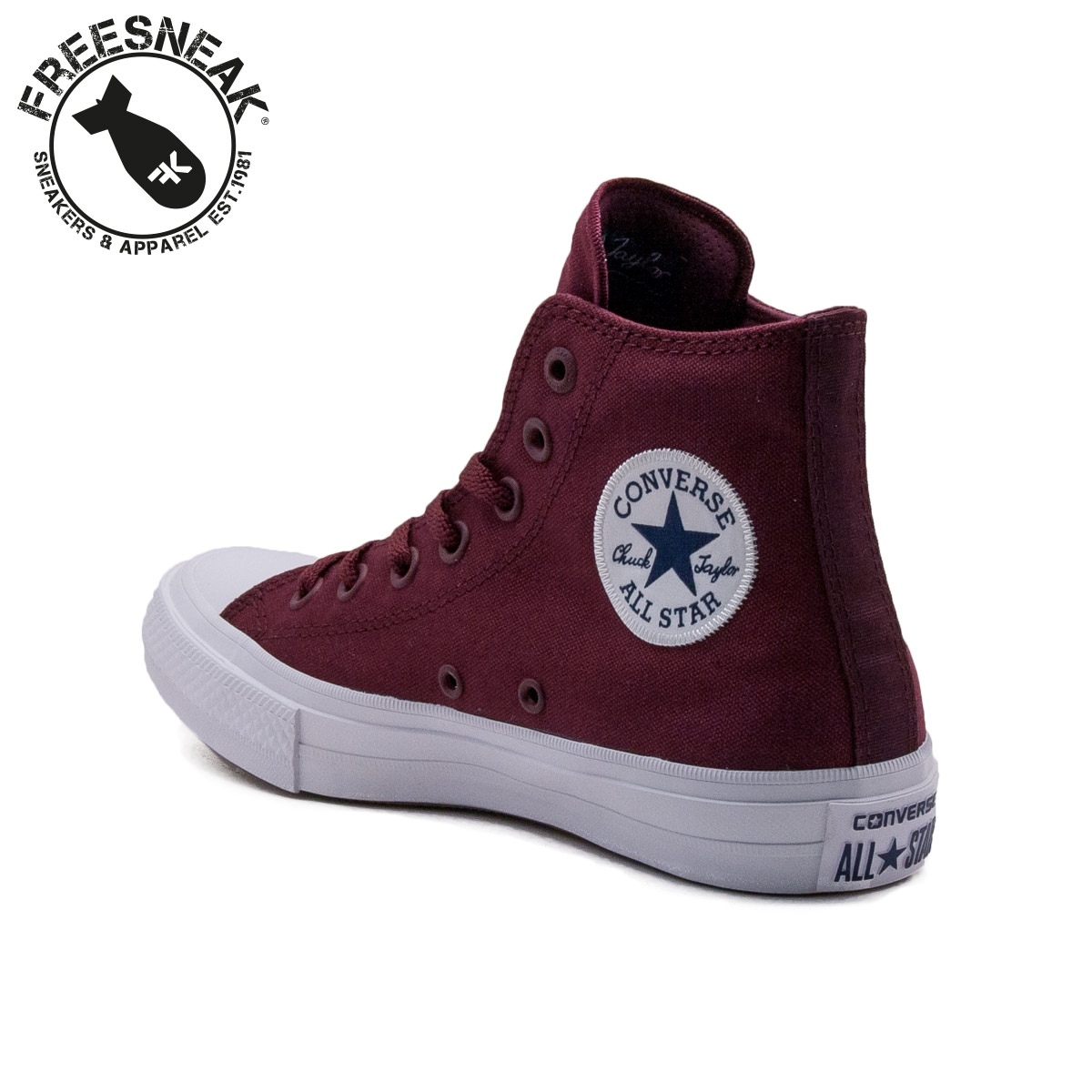 converse chuck taylor all star ii bordeaux
