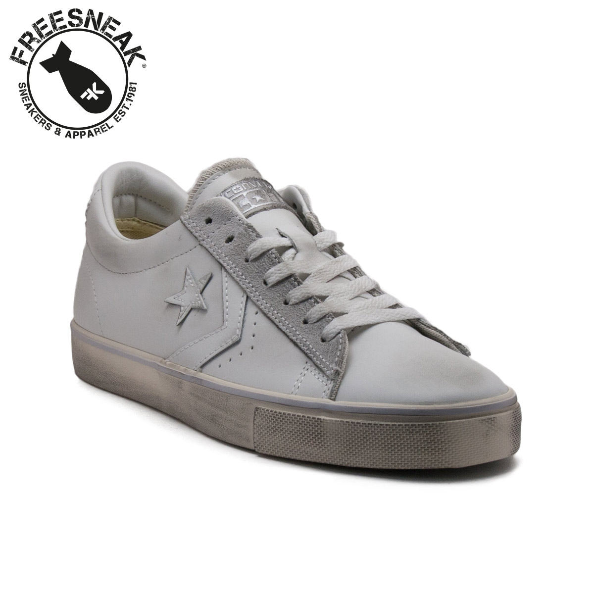 converse pro leather vulc ox leather bianca