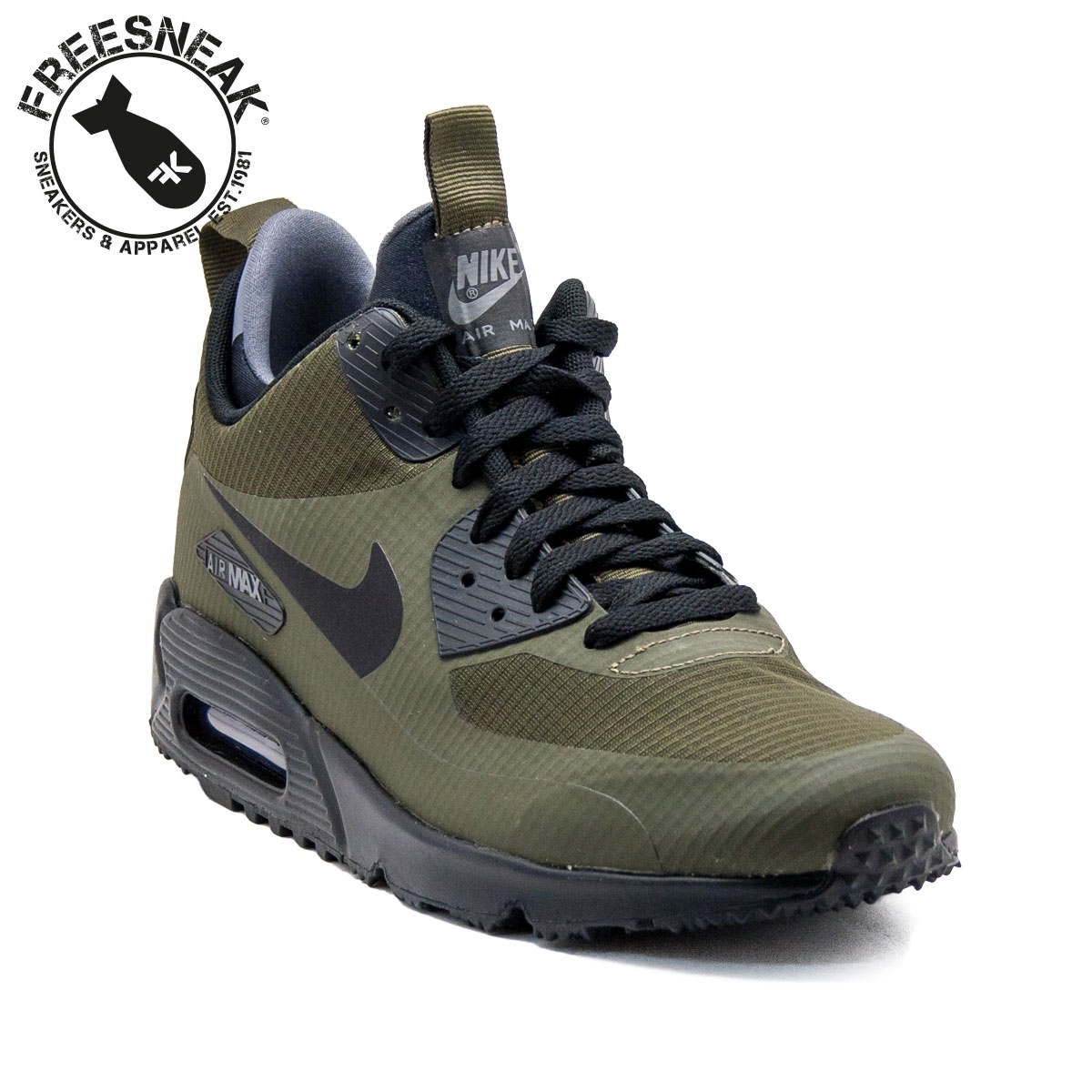 Nike Shoes In Green Colour
