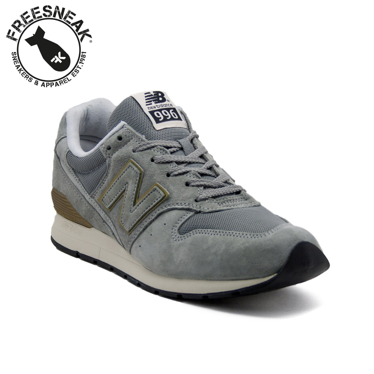 timeless design cba66 50af4 NEW BALANCE 996 GREY GOLD MRL996HA