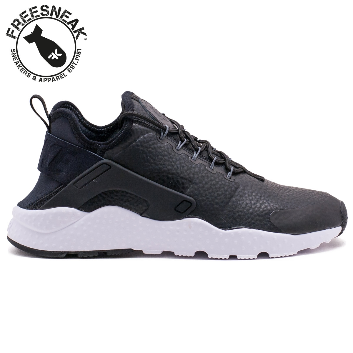 NIKE Air Huarache Run Ultra Premium Nero Black 859511001