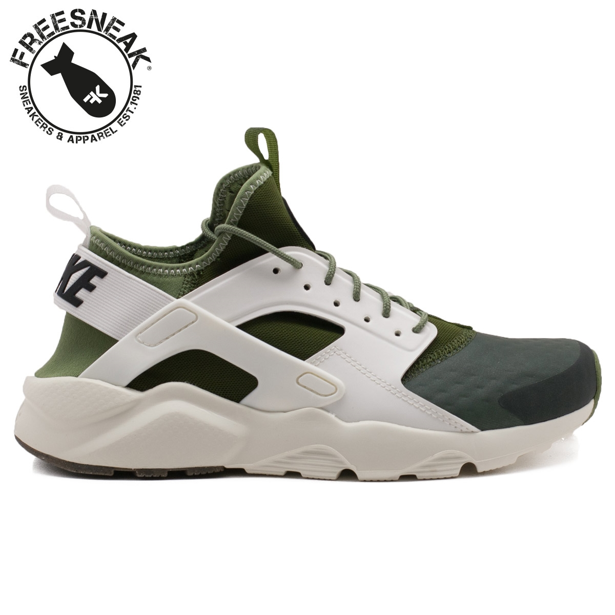 huarache run ultra verde