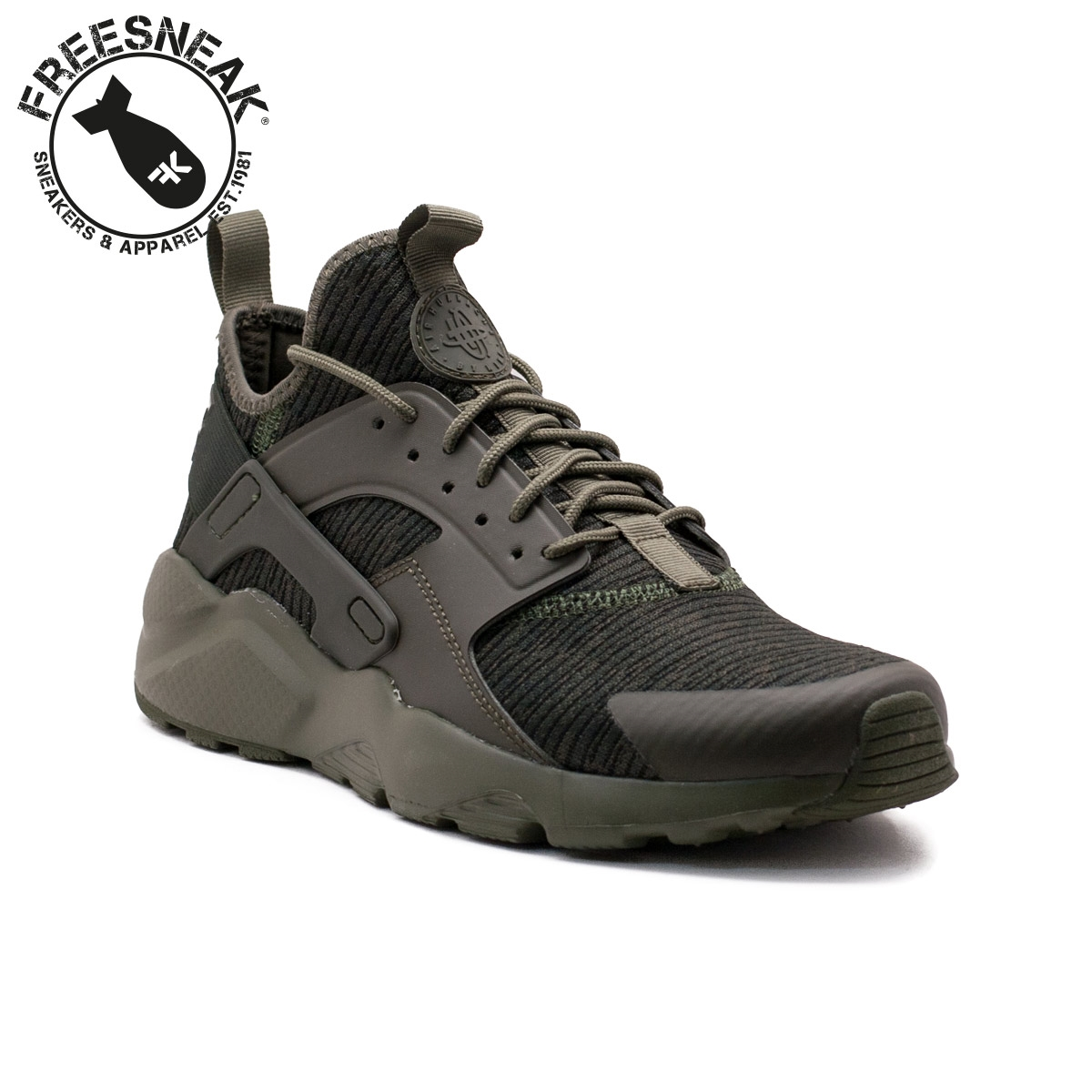 timeless design 236f7 029fc Nike | Air Huarache Run Ultra SE Verde Militare | 875841-303