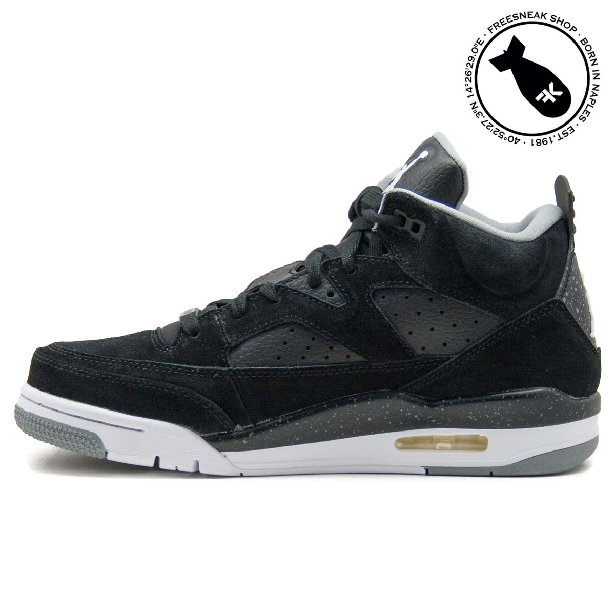online retailer 1fb46 1fd1a Sneakers Nike Air Jordan Son Of Mars Low Suede Black 580603-001