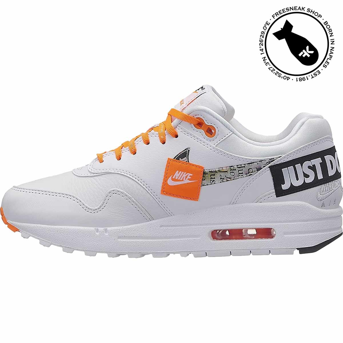 1c94fe2df7d Nike Air Max 1 Lux Just Do It White 917691-100