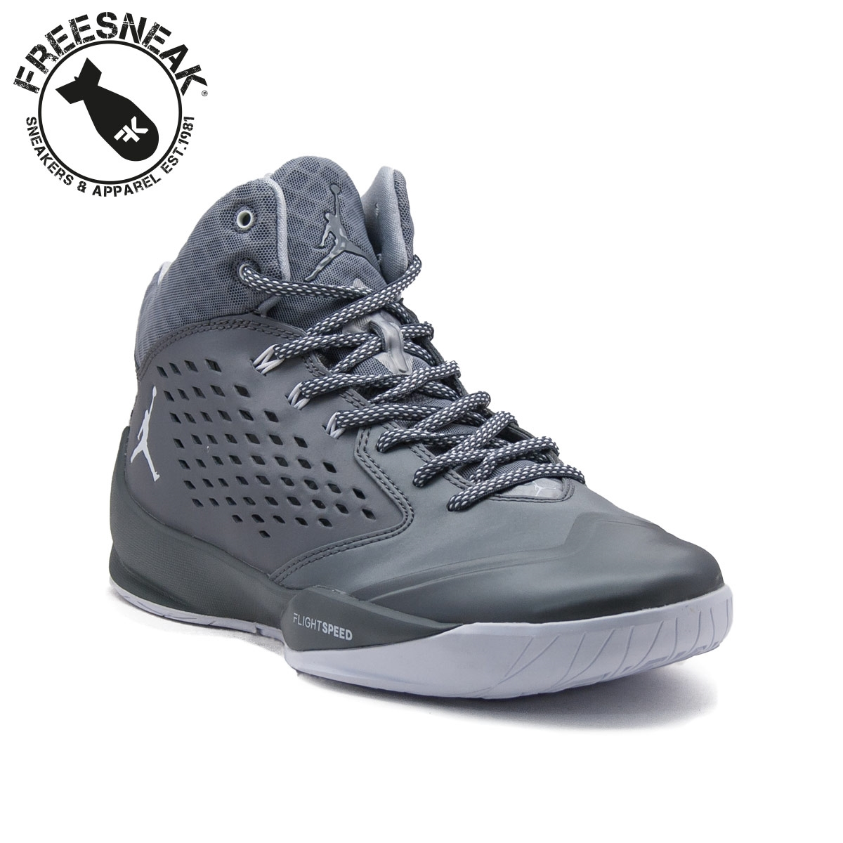 the latest 6d21a d7805 NIKE JORDAN RISING HIGH GREY 768931-003
