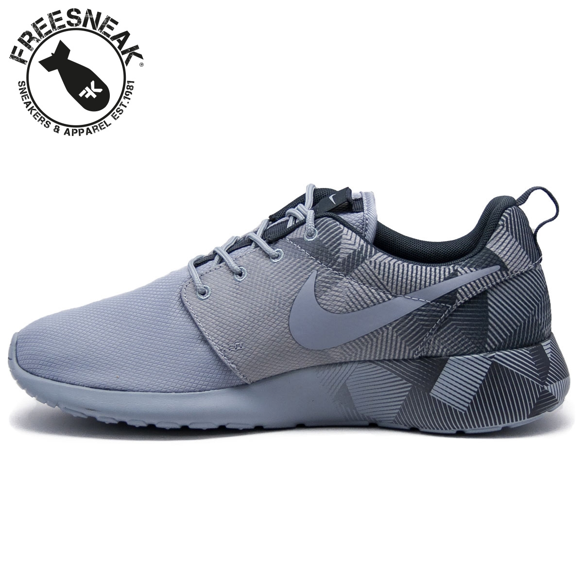 d044cb4ca9c29 NIKE - Roshe One print grey 655206-003 - Sneakers shoes man
