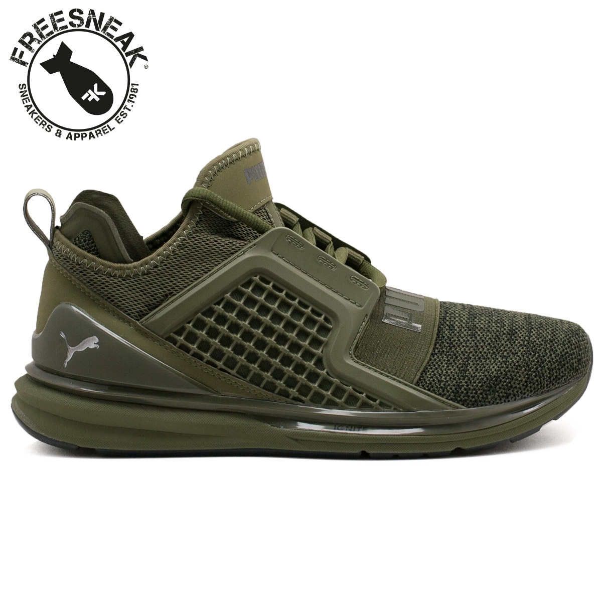 puma ignite limitless verde