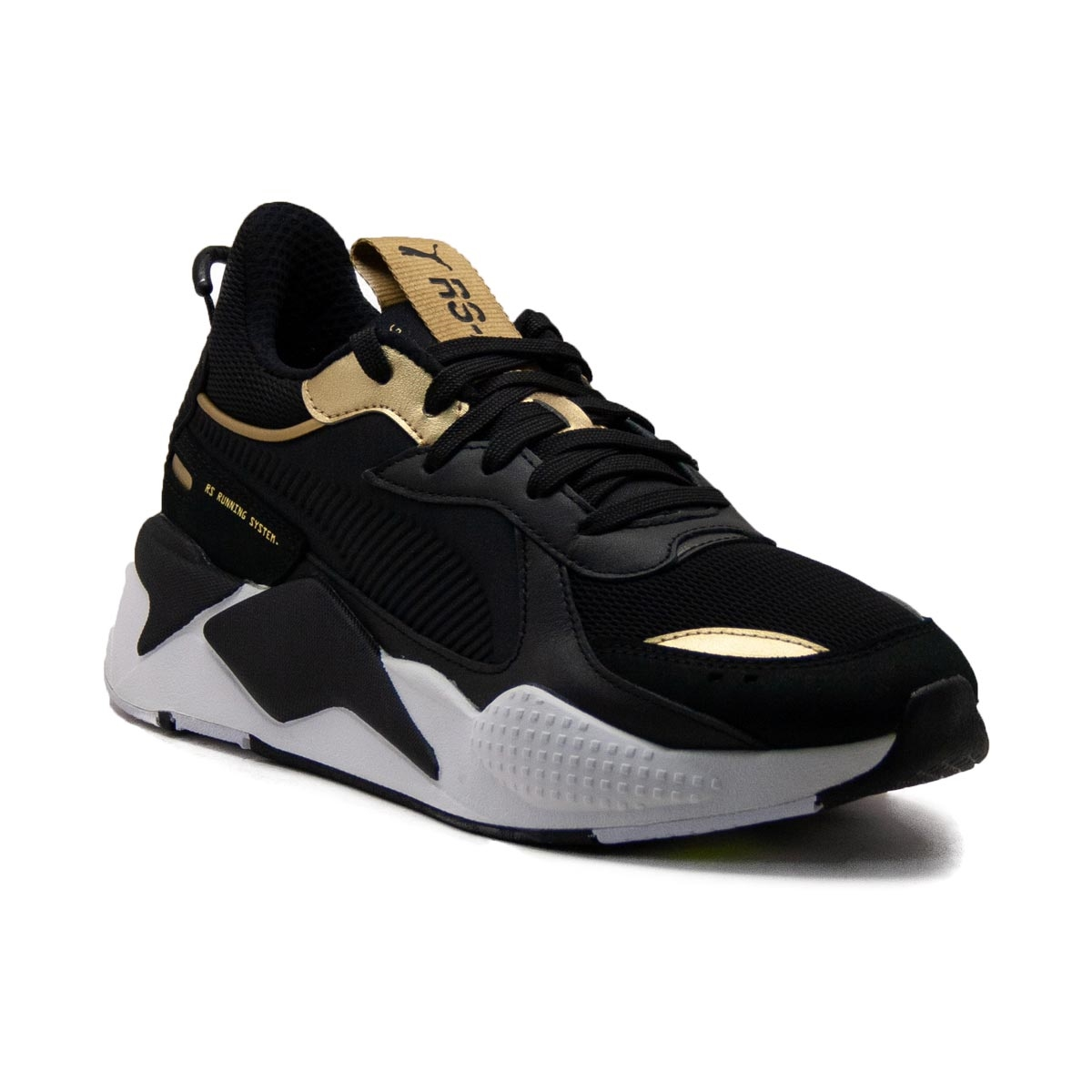 Sneakers Puma RS-X Trophy Black Gold 369451-01  360127995