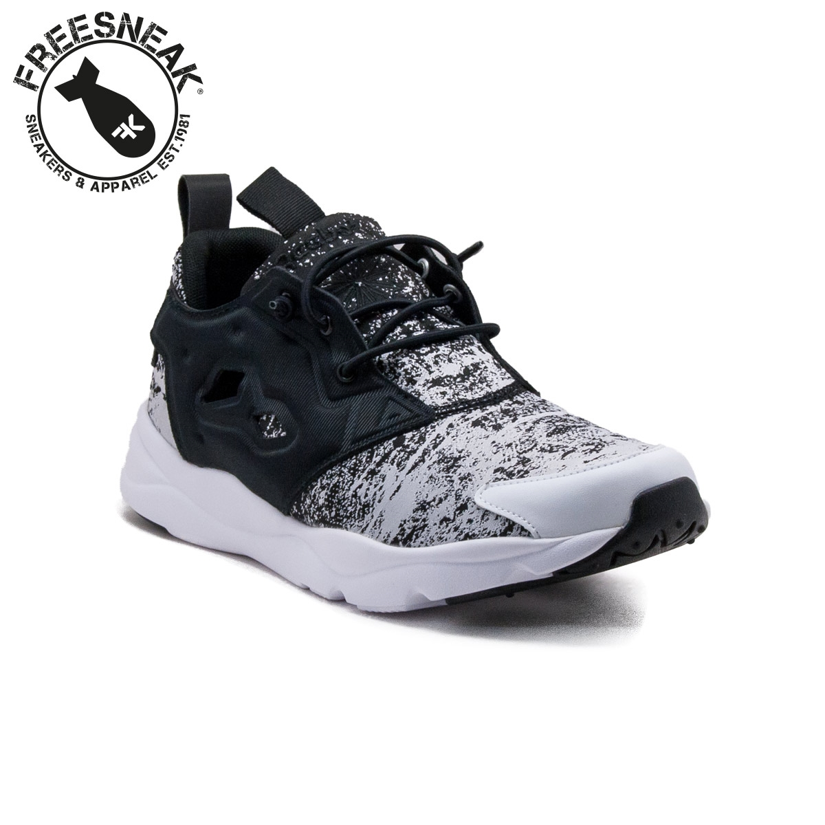 Reebok Furylite JF Sneakers In Black V69500