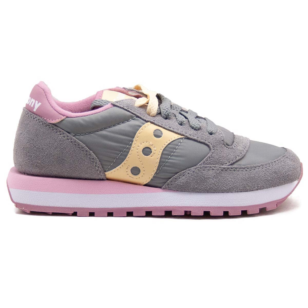 the best attitude 056b3 c82a9 Sneakers Saucony Jazz Original Grey Pink S1044-515 | Freesneak