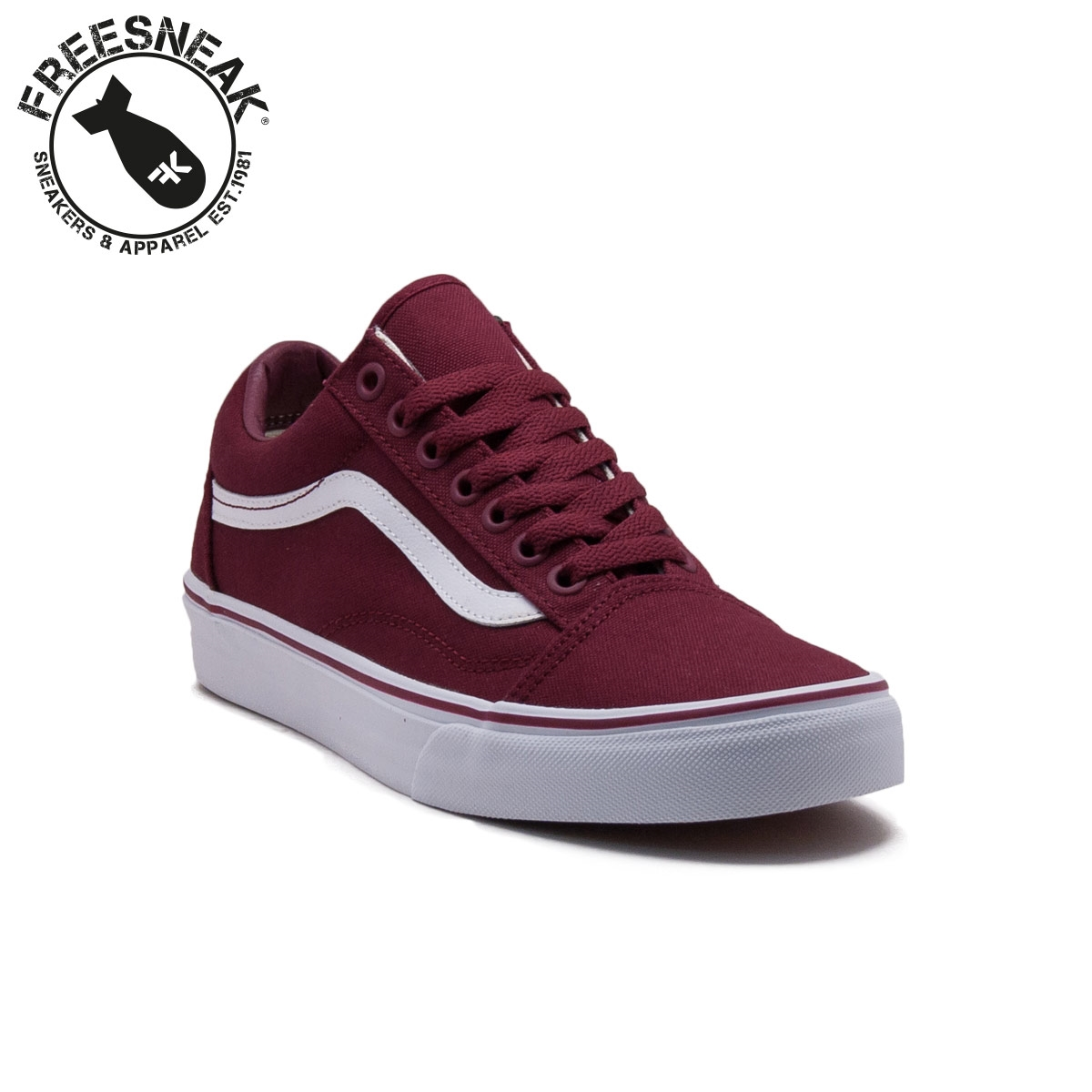 vans old school bordeaux