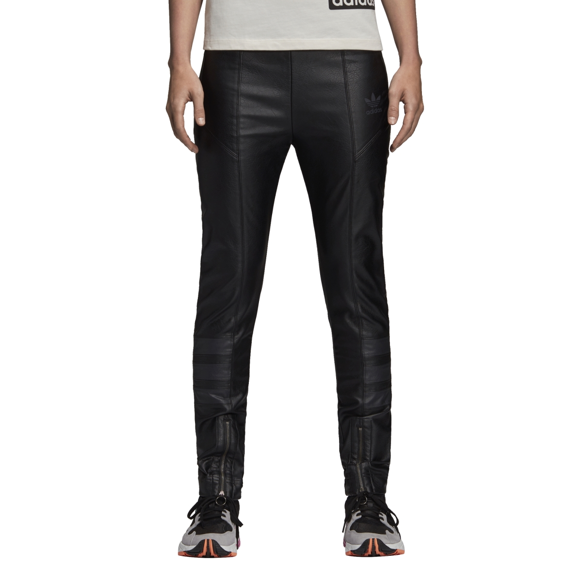 exquisite style autumn shoes provide large selection of Adidas Black Leather Pants Track Pants | Freesneak
