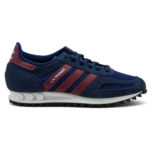 on sale 89336 068e6 Sneakers Adidas La Trainer Mesh Blue And Bordeaux B37831. ADIDAS B37831