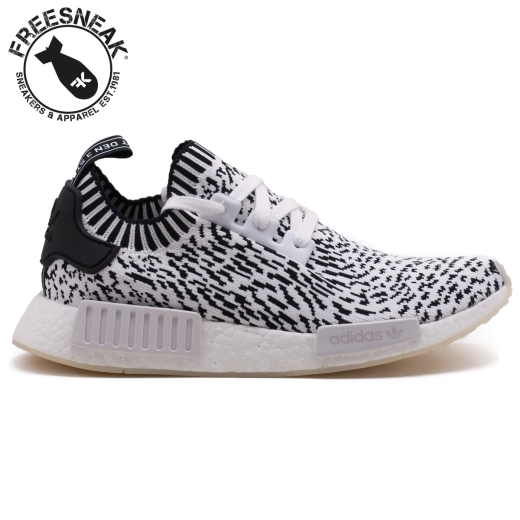 detailed look afbb9 11825 Adidas NMD R1 Pk Zebra Pack White BZ0219. ADIDAS BZ0219