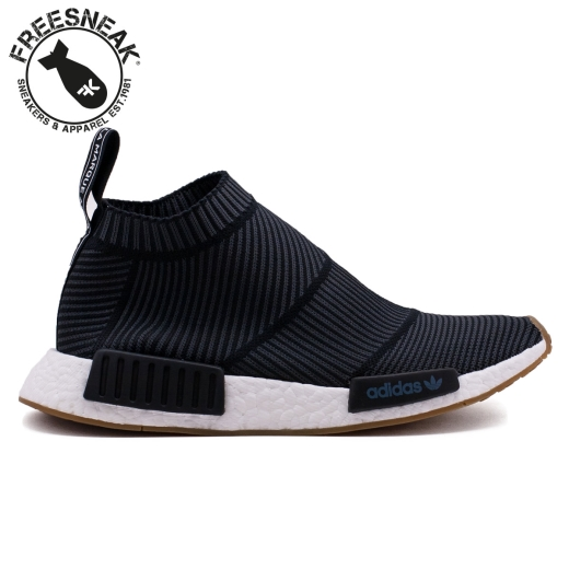 06488efa7 NMD CS1 PK CITY SOCK BLACK GUM BA7209. ADIDAS BA7209