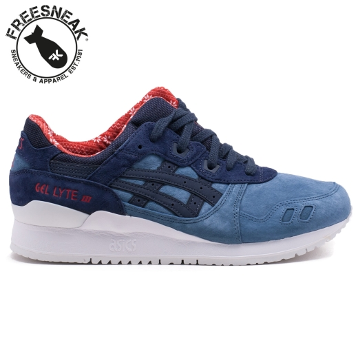 8ea842bdca Asics Gel Lyte III H6X4L-4650 Blu Mirage India Ink