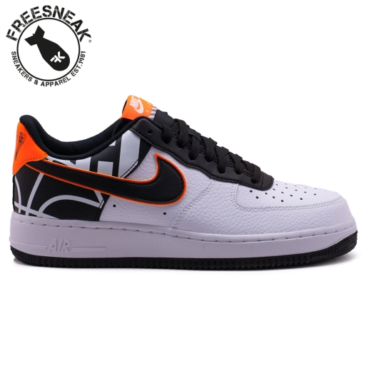 air force 1 lacci nike bianca