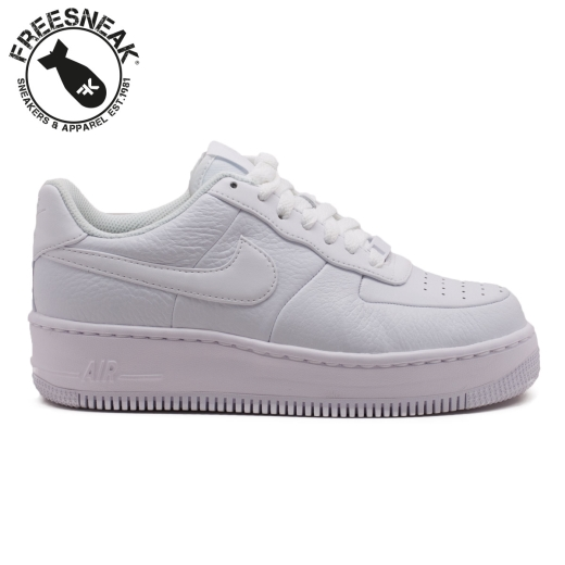 new concept d342b 94fef AIR FORCE 1 UPSTEP WHITE 917588-100. NIKE 917588-100