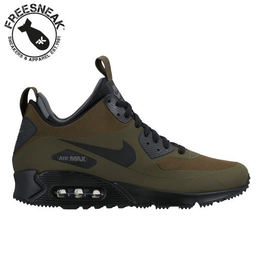 5d21fd474b638d NIKE - Air max 90 mid wntr military green 806808-300 - Sneakers ...