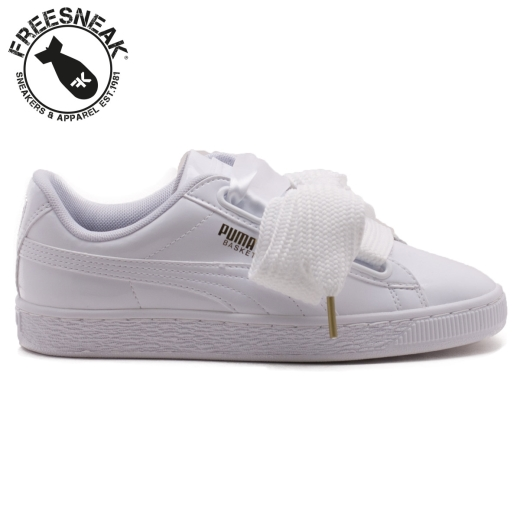 best sneakers 935af fc041 BASKET HEART PATENT WHITE 363073-02