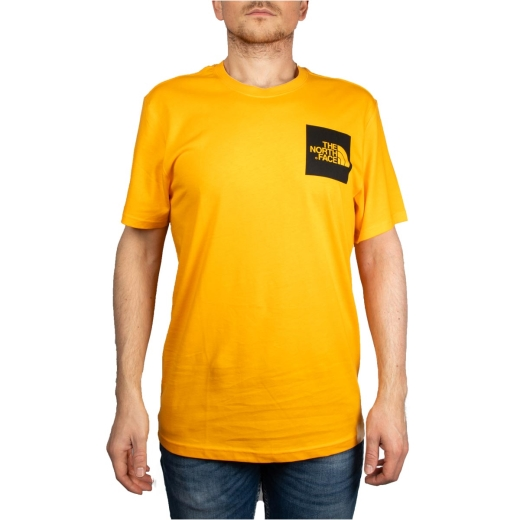 5ae33bdc2 The North Face Box Logo Tee Man Orange T0CEQ5H6G | Freesneak