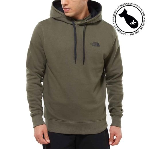 new concept 7b3f6 0125e Hoodie The North Face Olive Green T92TUV21L