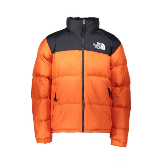 Giacca Uomo Retro Nuptse 1996 The North Face Arancione