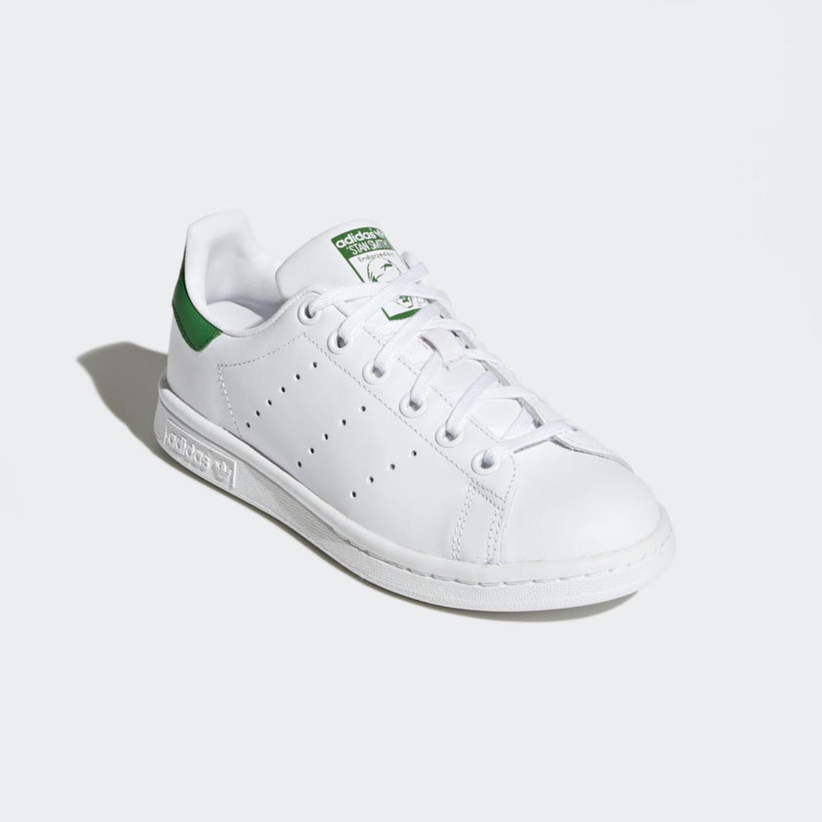 f3f1c43a4d5a5d adidas stan smith j bianco verde m20605